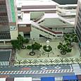 レイアウトの駅はJR河内松原駅