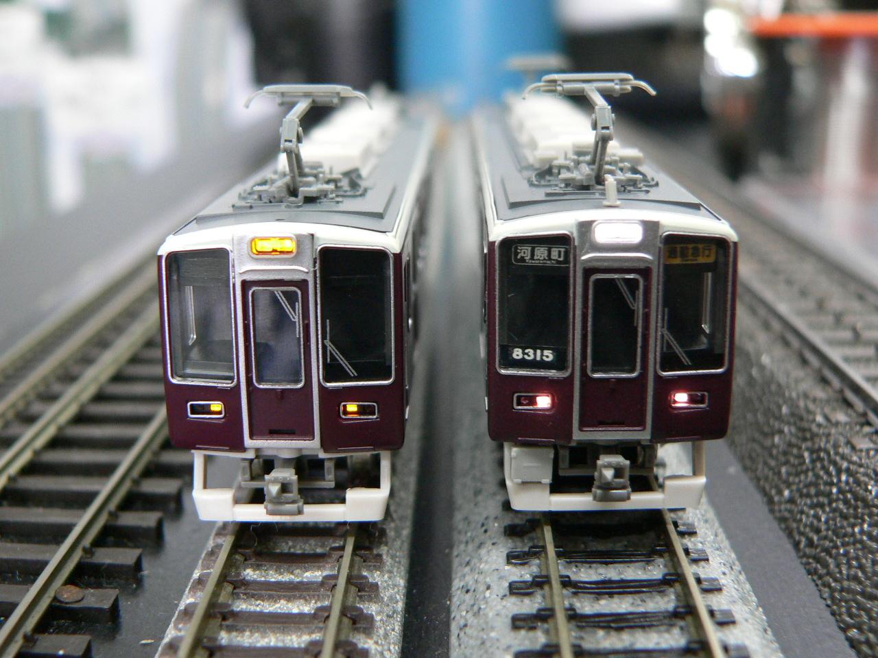 グリーンマックスの阪急8300系シ...